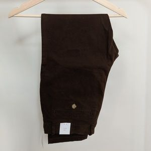 Urban Outfitters Dark Brown Skinny Chinos (32x30)